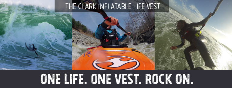 Clark Inflatable Life Vest