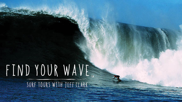 Surf Tours with Jeff Clark. Photo: Aric Crabb
