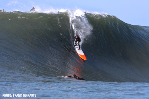 Jeff Clark SUP at Mavericks