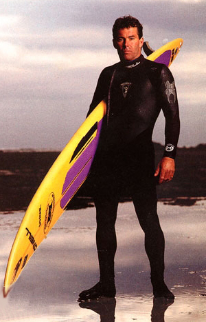 "Jeff Clark, image from Outside Magazine May 1995, ""Mark Foo's Last Ride."" Photo credit: David Martinez"