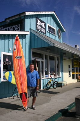 Jeff Clark at Mavericks Surf Company