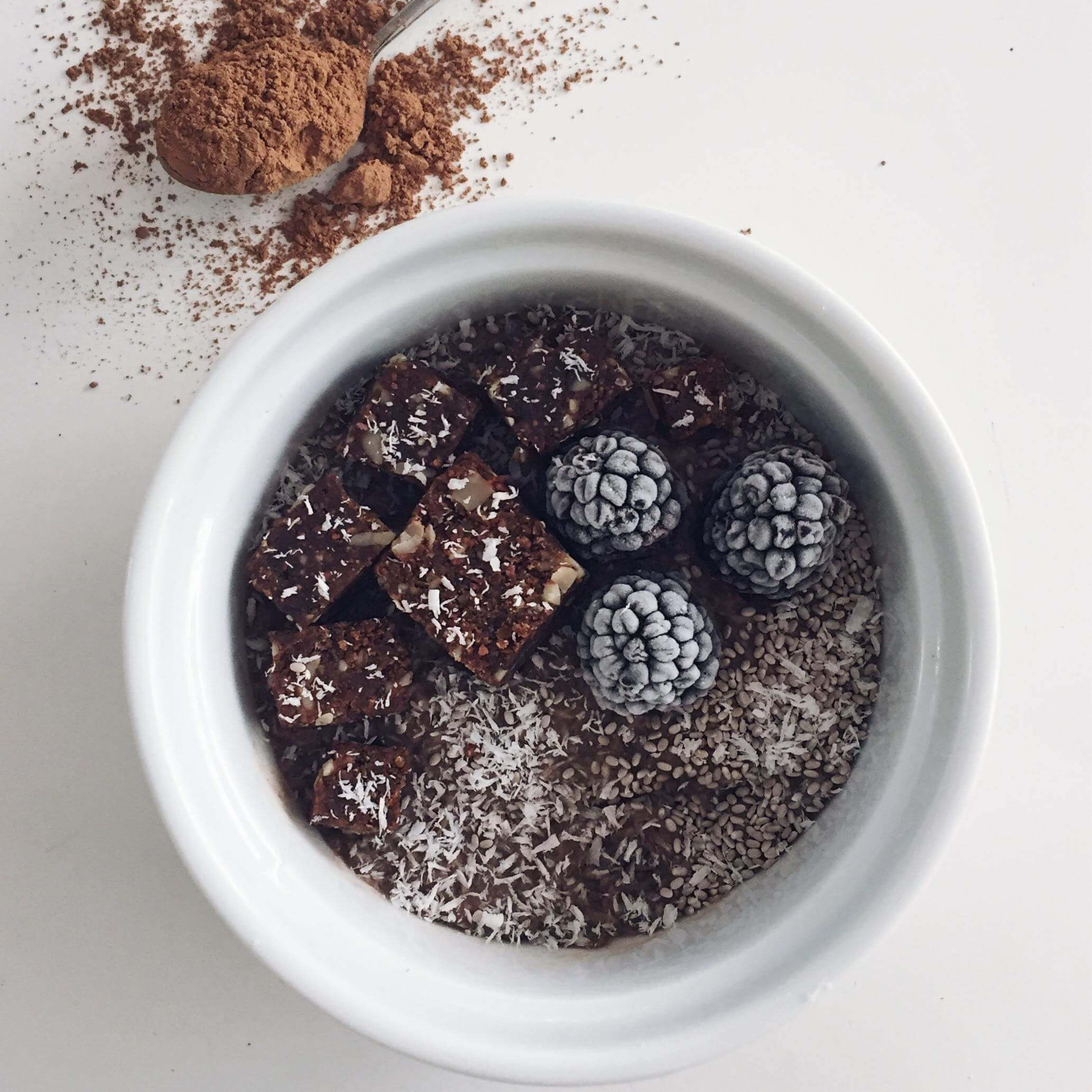 Cacao Coffee Coconut Mousse
