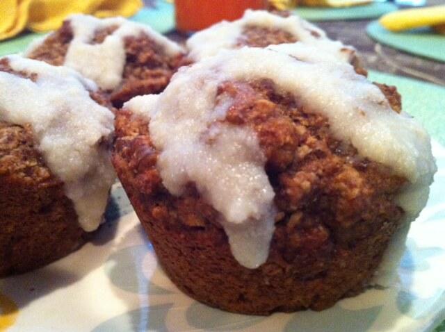 Mulberry Bran Muffins