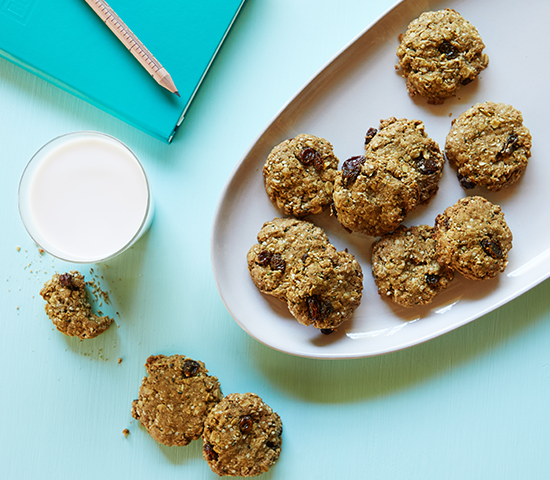 Boosted Oatmeal Cookies