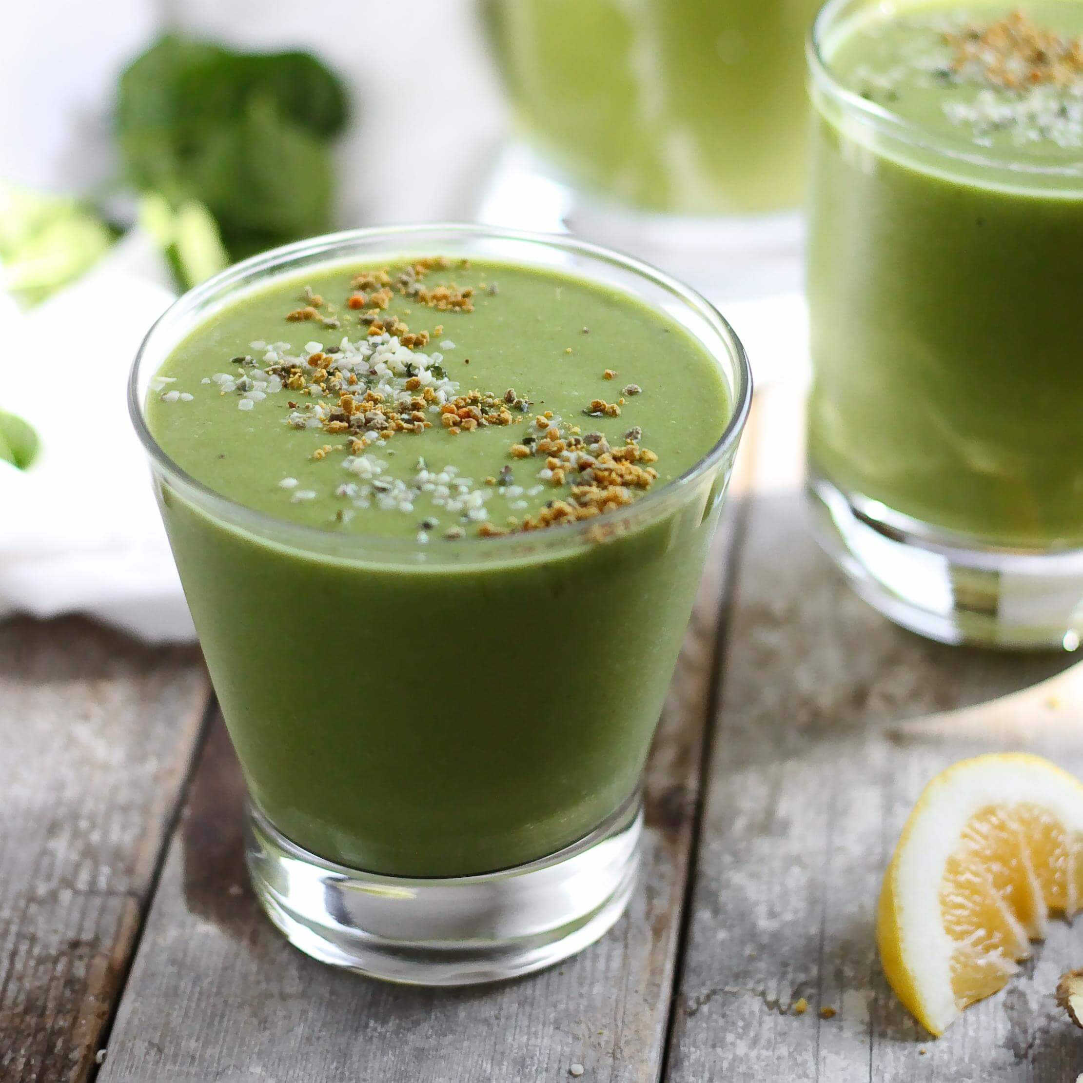 Matcha Ginger Smoothie