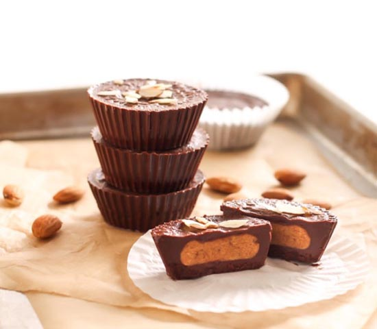 Pumpkin Spice Almond Butter Cups