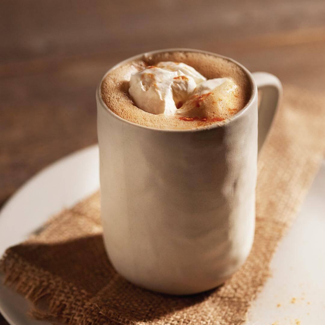 Gingerbread Goji Latte